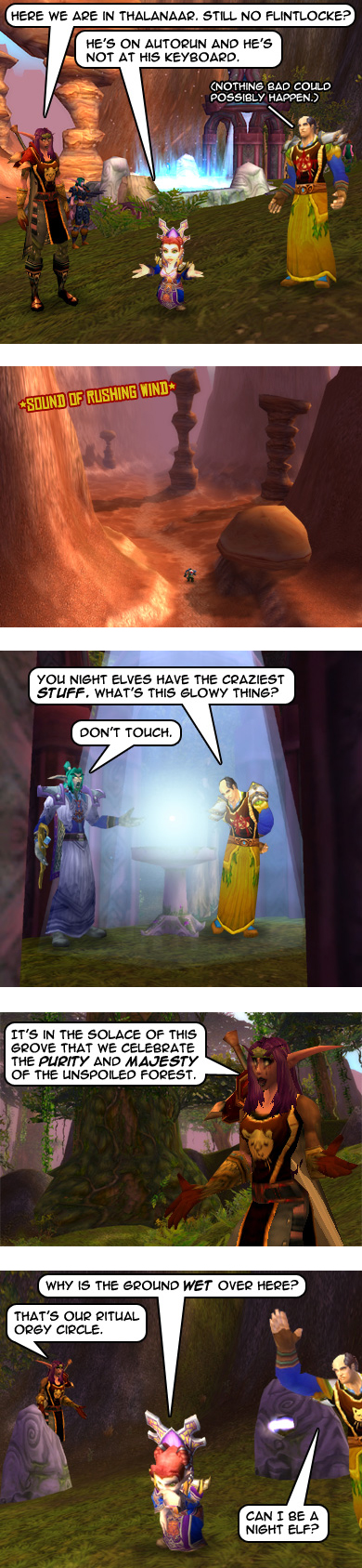 Running on empty - Part 4: Secrets of the Night Elves