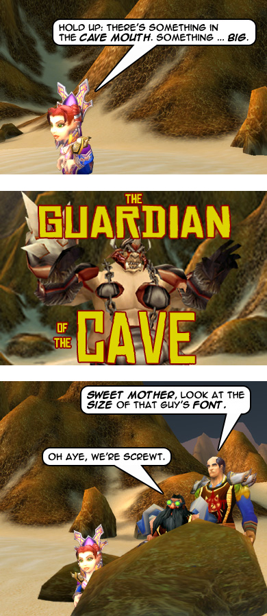 The Guardian of the Cave - Part 2