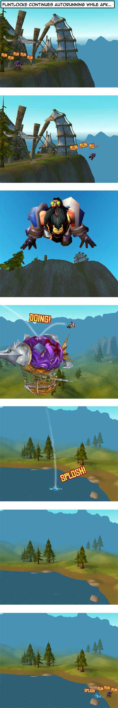Running on empty - Part 8: Air Dwarven!